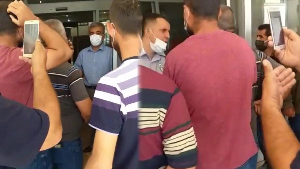 Mahalleli MHP'li belediye binasını bastı