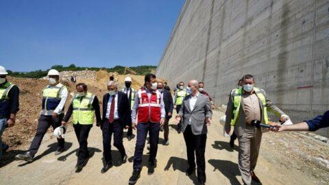 İmamoğlu Melen Barajı'na gitti, DSİ'den