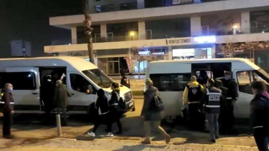 Fuhuş operasyonunda 14 kişiye ceza