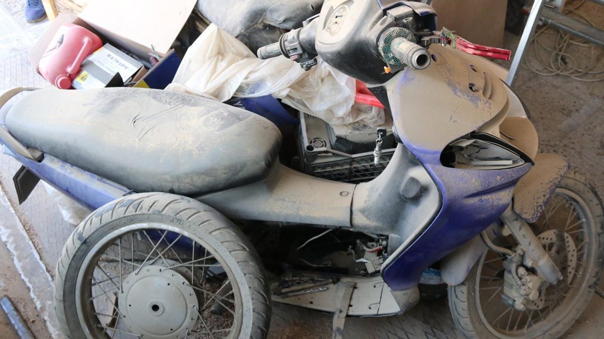 Trafikten düşürmediği hurda motosikletin faturası ağır oldu