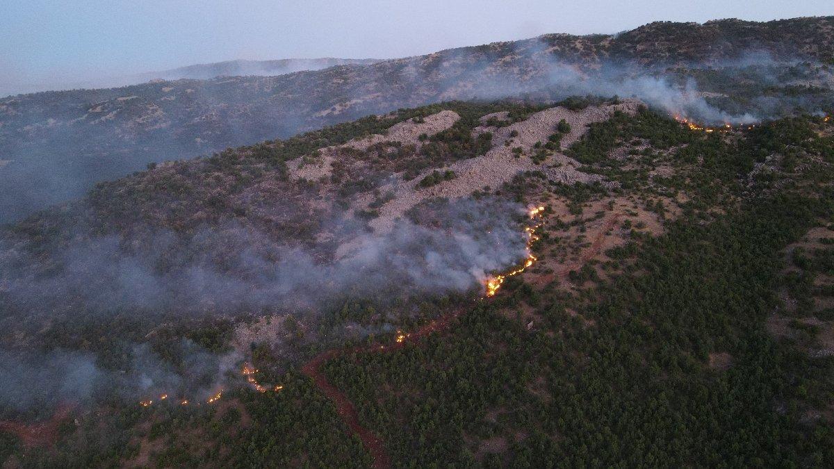 Orman yangını 4 gündür söndürülemedi