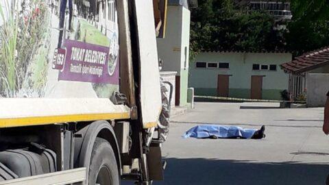 Emekli asker baba-oğul çöp kamyonunun altında kaldı