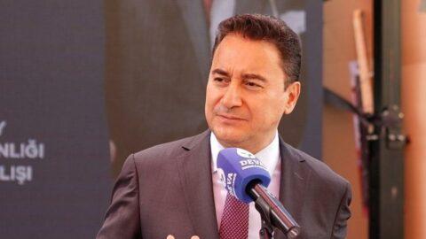 Ali Babacan'dan Devlet Bahçeli'ye yanıt