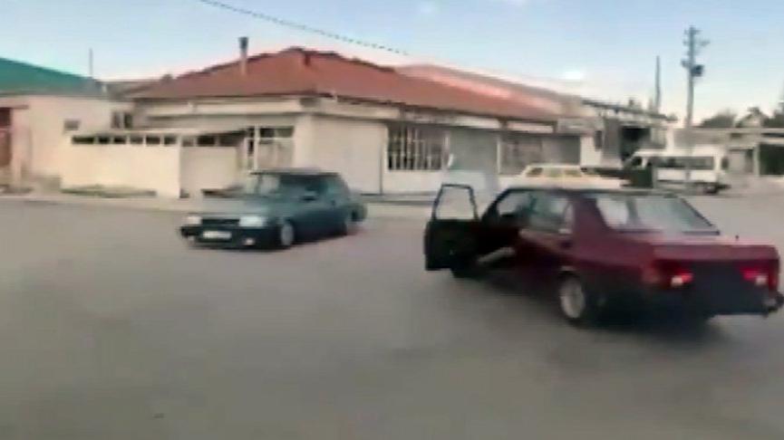 Drift yapan sürücülerin ehliyetine el konuldu, 15 bin lira ceza kesildi
