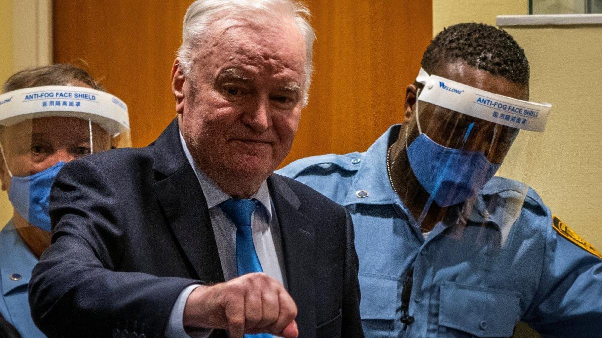 'Bosna Kasabı' Mladiç'e ömür boyu hapis
