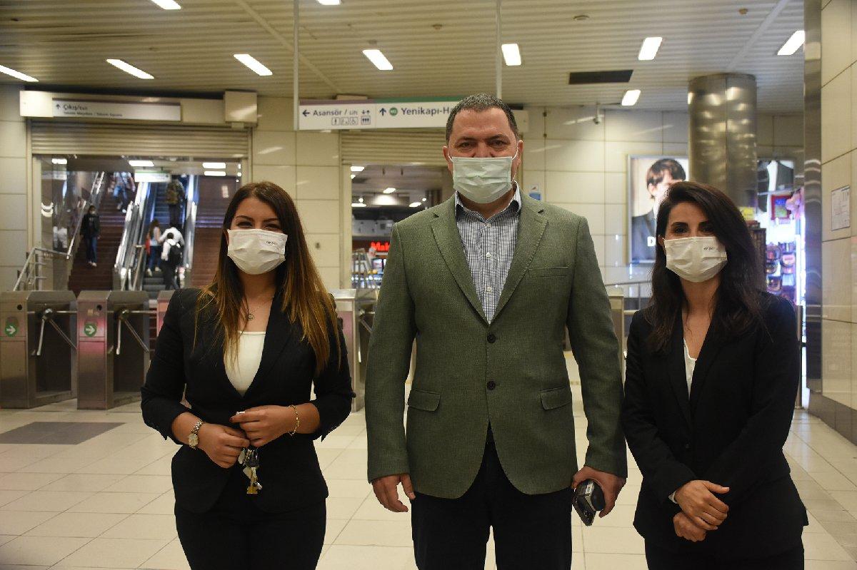 İstanbul metrolarında kadın istasyon amirleri iş başı yaptı