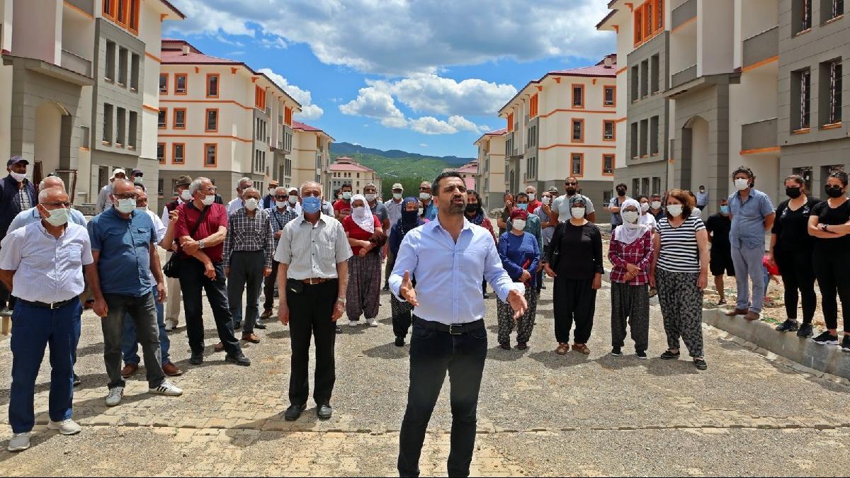 TOKİ, Tunceli'deki 320 dairelik konutları 4 yıldır teslim edemedi