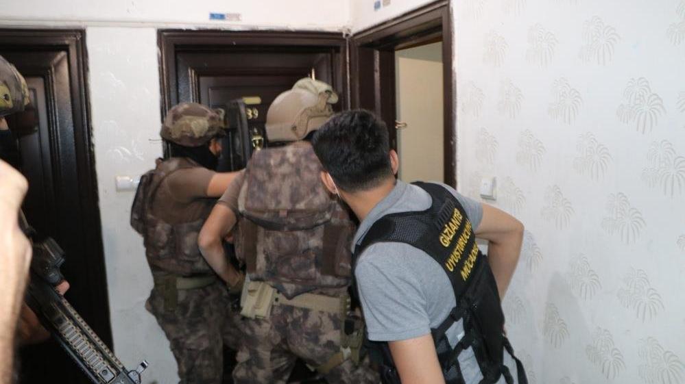 600 polisle dev uyuşturucu operasyonu başlatıldı