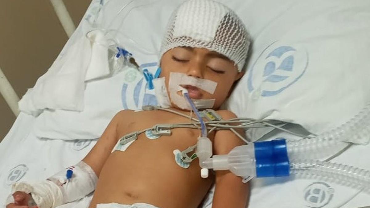 Maganda kurşunuyla vurulan 2 yaşındaki Vildan felç kaldı