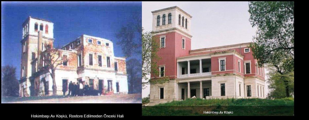 7 yılda tümüyle yenilenen köşke, 10.5 milyonluk yeni restorasyon