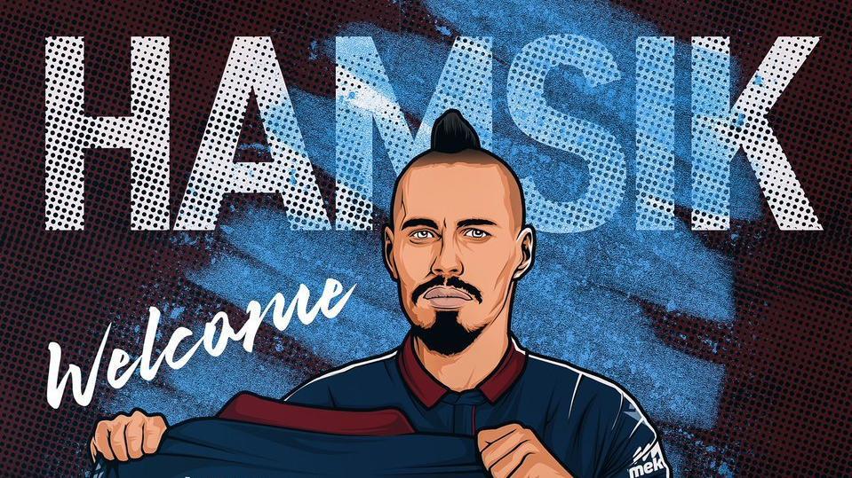 Hamsik'ten Trabzonspor taraftarına mesaj