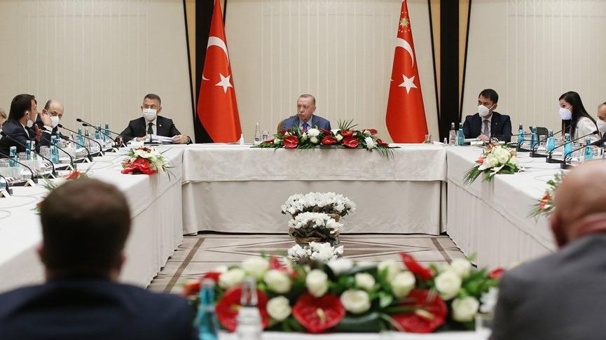 Cumhurbaşkanı Erdoğan'dan akademisyenlerle müsilaj toplantısı! Sonuç bildirgesi açıklandı
