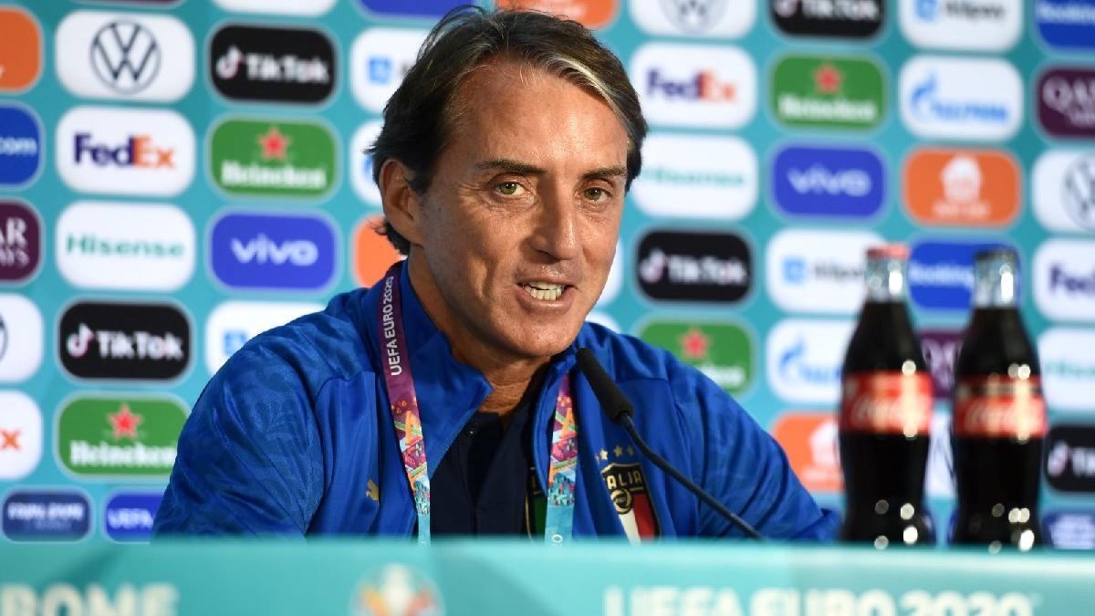 Roberto Mancini: 'Umarım Burak Yılmaz yarın gol atmaz'