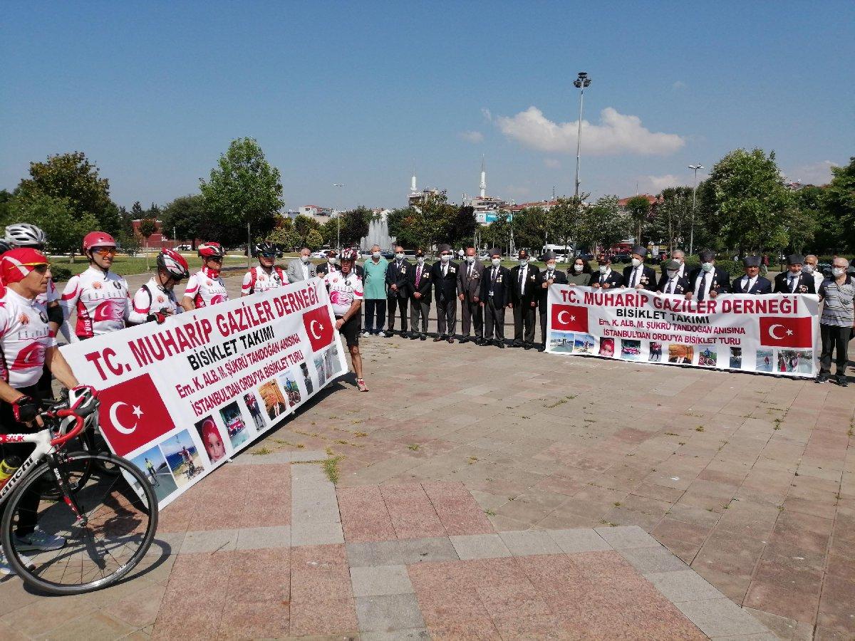 Kıbrıs Gazisi Tandoğan için pedal bastılar