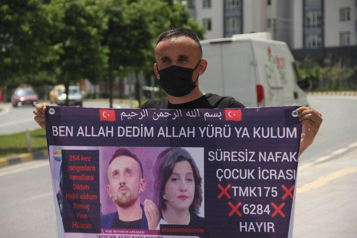 1 gün evli kaldı, 4 yıldır nafaka ödüyor! Ankara'ya kadar yürüyecek