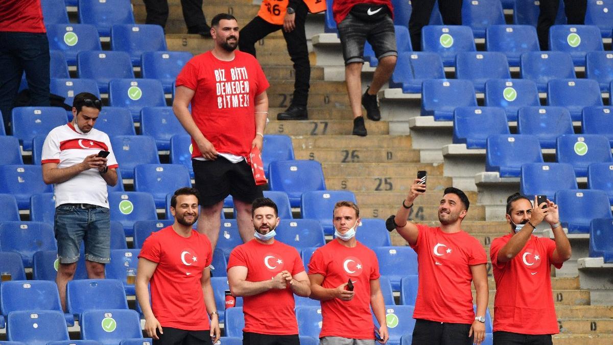 3 bin Türk taraftar Roma Olimpiyat Stadı'nda!