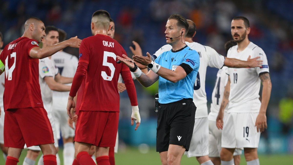 Türkiye-İtalya maçında tartışma yaratan penaltı pozisyonu! Kural ne diyor?