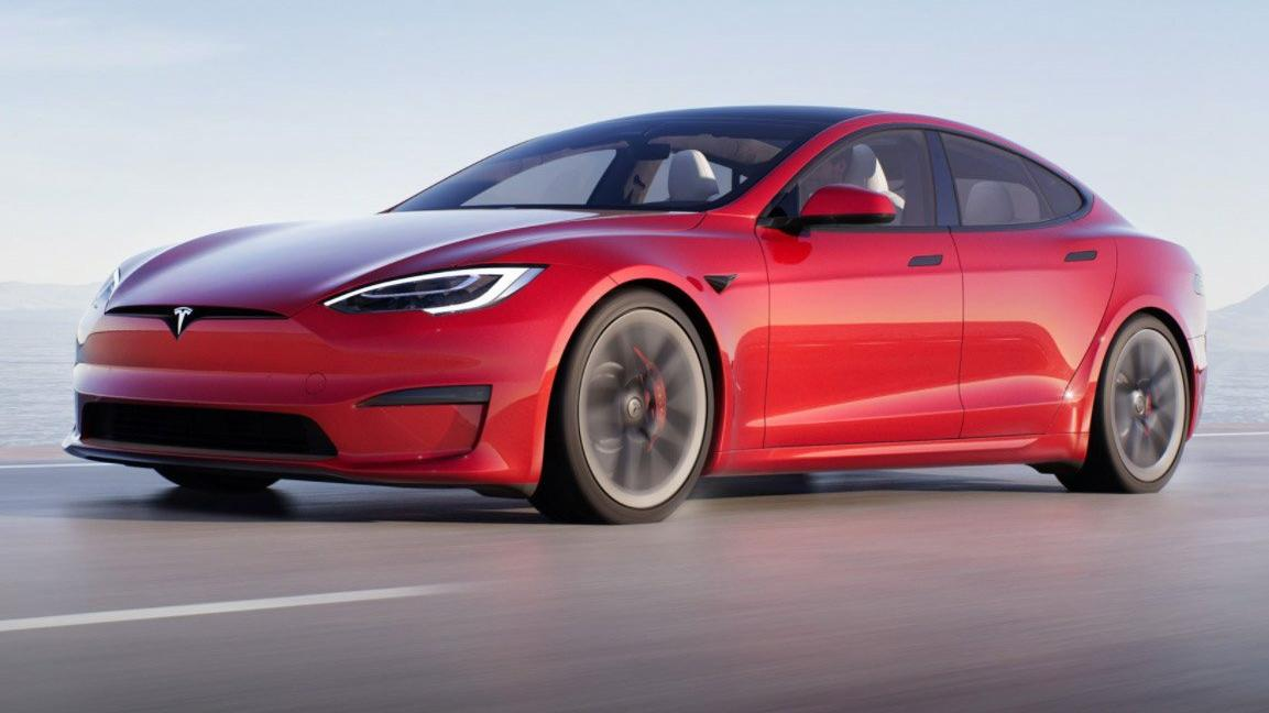 Elon Musk, en hızlı elektrikli aracını tanıttı: Tesla Model S Plaid
