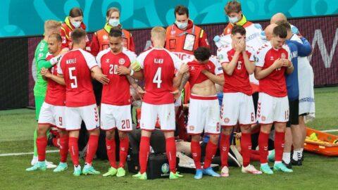 Eriksen'in kalbi durdu, maç tamamlandı! UEFA'ya tepki yağdı