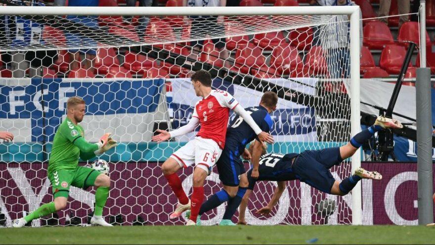 Finlandiya Danimarka'yı yendi! Tek şutla üç puan