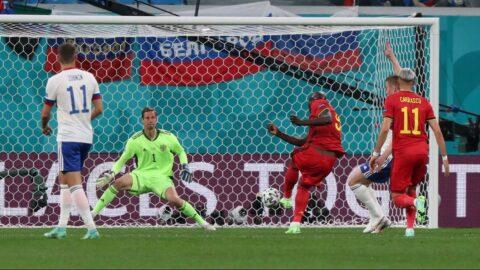 Belçika Rusya karşısında rahat kazandı! Lukaku yıldızlaştı (EURO 2020 B Grubu)