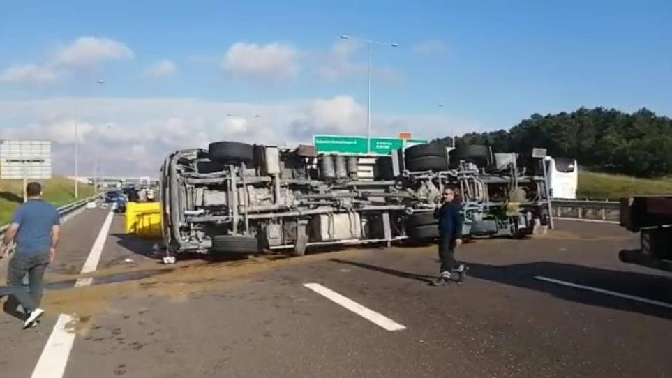Kaza yapan vinç sürücüsü: Güneş vurunca mayıştım