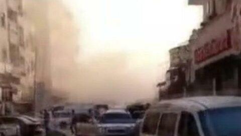 Afrin'de füze ve top atışları hastaneye isabet etti! Ölü ve yaralılar var