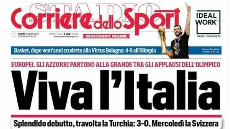 Türkiye-İtalya maçı dış basında: 'Mamma mia, İtalyanlar güçlü'