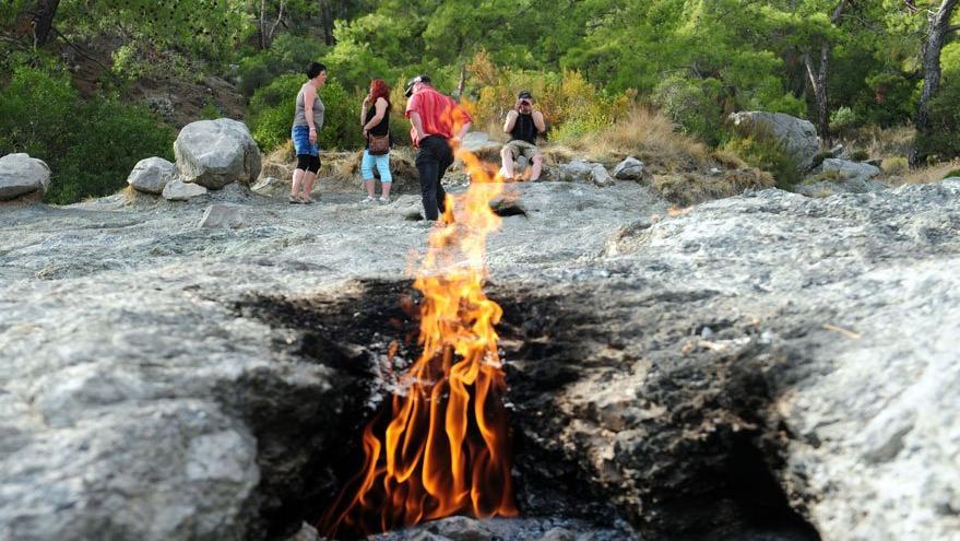 Sönmeyen ateş koruma altında