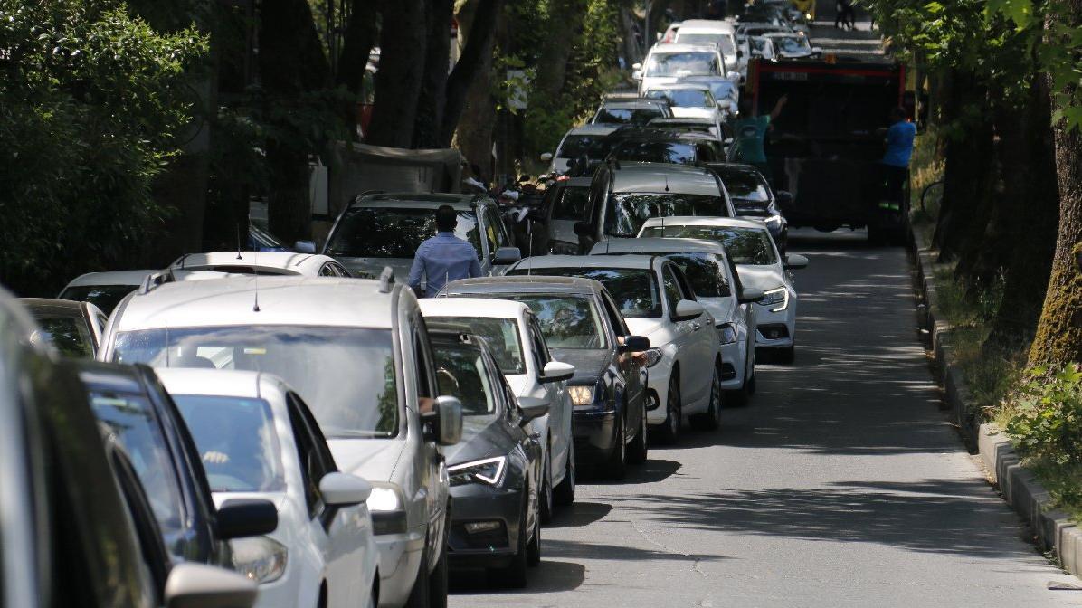 İstanbul'da yoğunluk