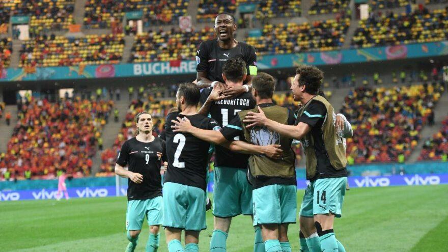 Avusturya'dan Kuzey Makedonya karşısında tarihi galibiyet: 3-1   EURO 2020 C Grubu