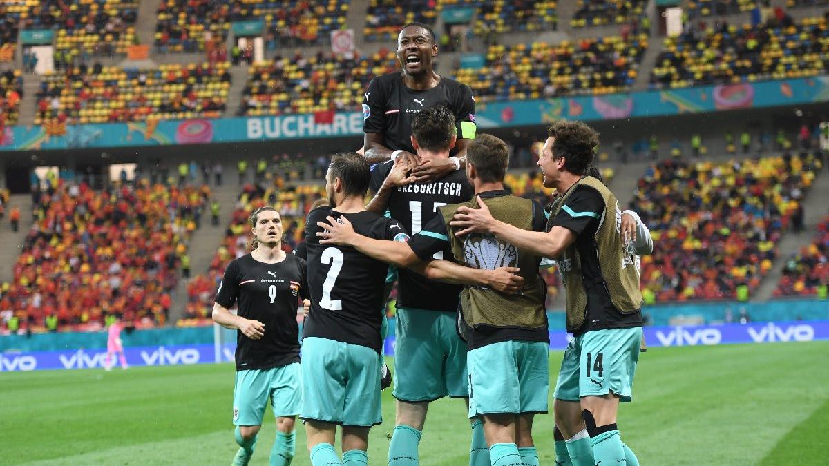 Avusturya'dan Kuzey Makedonya karşısında tarihi galibiyet: 3-1 | EURO 2020 C Grubu