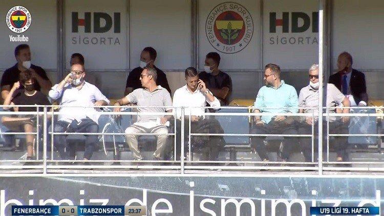 Fenerbahçe Başkanı Ali Koç, Sırp menajer Milos Mladenovic'le birlikte!