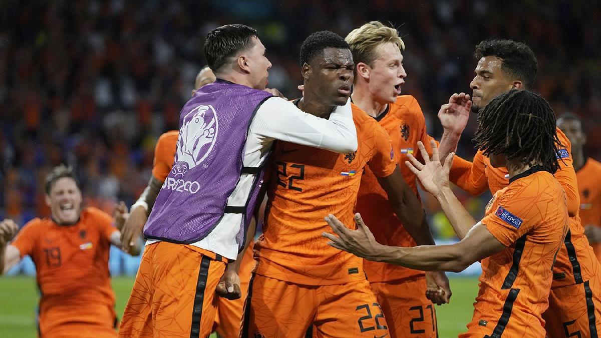 Hollanda, Ukrayna karşısında zorlandı ama yıkılmadı: 3-2 | EURO 2020 C Grubu
