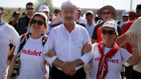 'Adalet Yürüyüşü, AKP ilk seçimde gittiğinde bitecek'