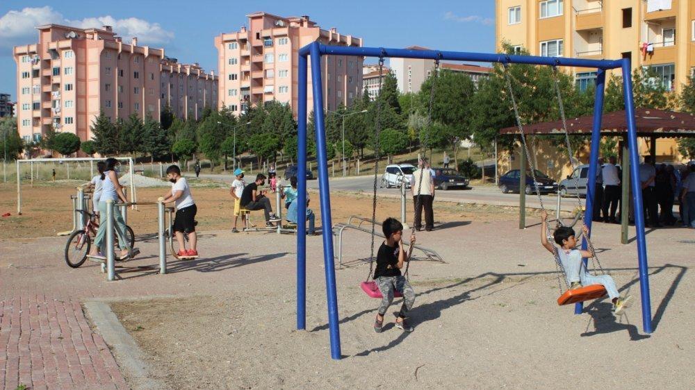 TOKİ çocukların parkına göz dikti