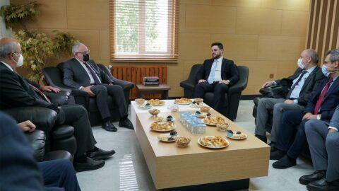 CHP'den Bağımsız Türkiye Partisi'ne ziyaret