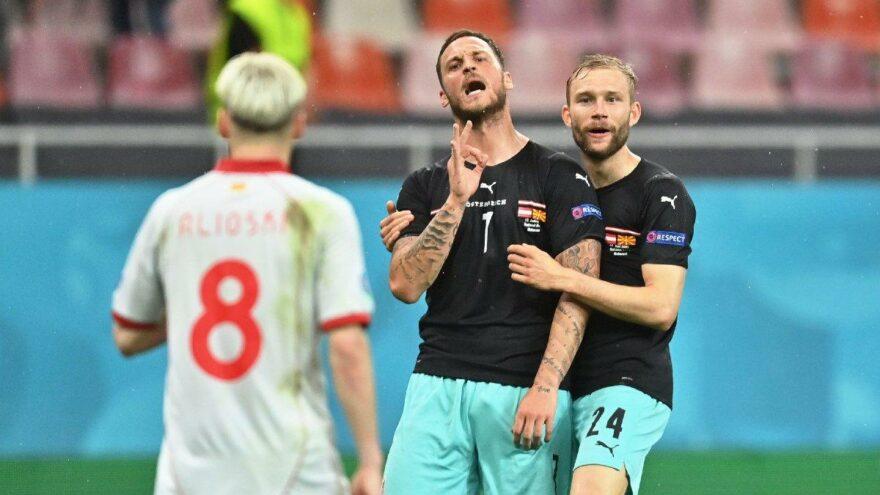 EURO 2020'de ırkçılık skandalı: Avusturya-Kuzey Makedonya maçında Marko Arnautovic'in küfürleri