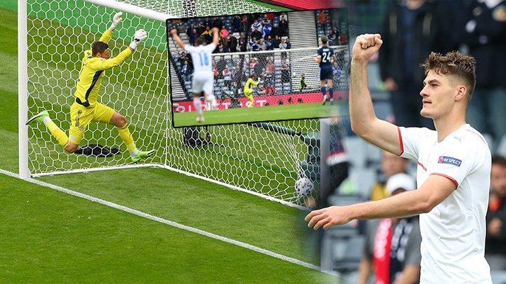 Çekya, İskoçya'yı Schick ile yıktı: 2-0   EURO 2020 D Grubu