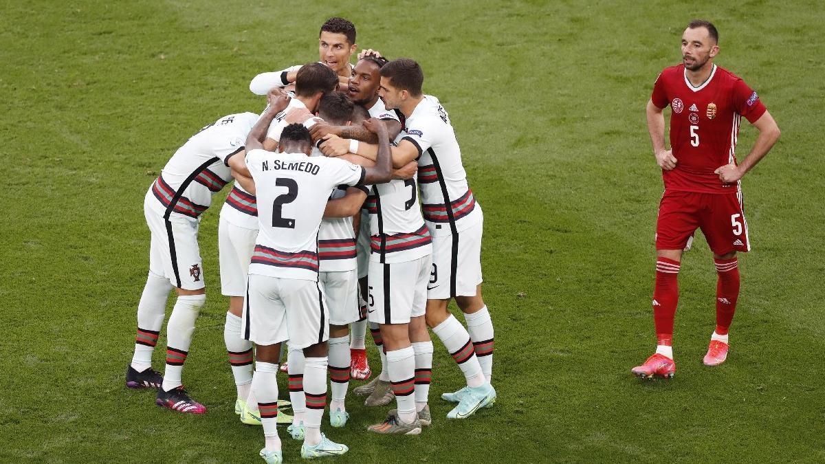 Macaristan'ın nefesi Portekiz'e yetmedi! Ronaldo tarihe geçti: 0-3 | EURO 2020 F Grubu