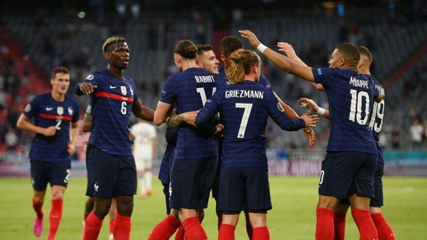 Fransa, Almanya'yı Münih'te dağıttı: 1-0   EURO 2020 F Grubu
