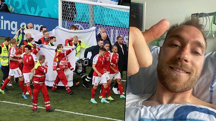 Christian Eriksen: Kendimi iyi hissediyorum