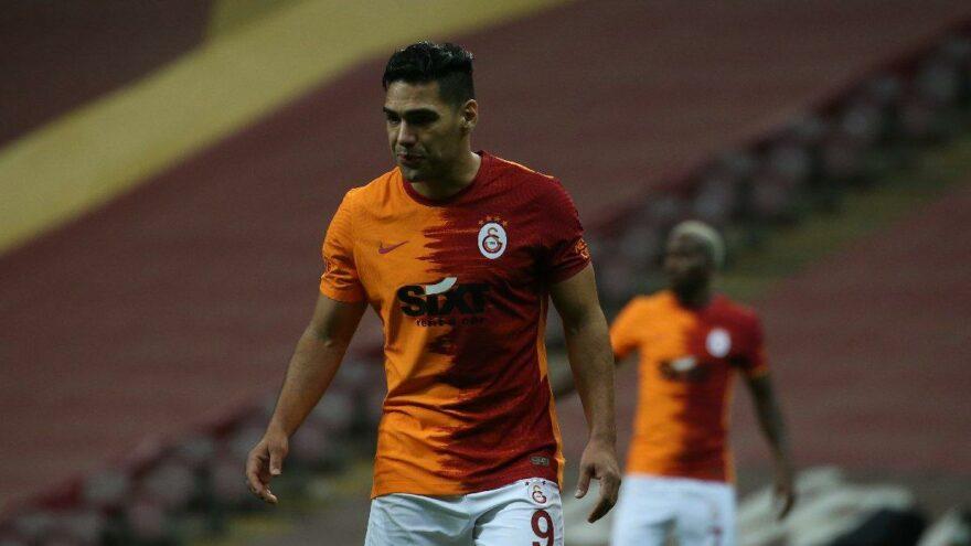 Galatasaray'da Falcao'nun corona testi pozitif çıktı