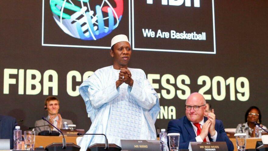 FIBA Başkanı Niang taciz iddiaları nedeniyle görevi bıraktı
