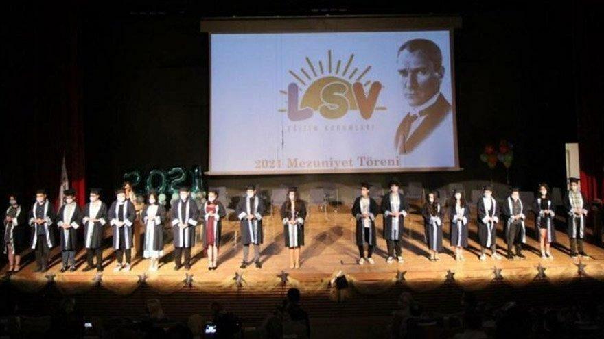 LÖSEV'de diploma heyecanı