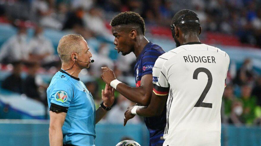 Fransa Almanya maçına damga vuran olay! EURO 2020'de yeni bir ısırık vakası…