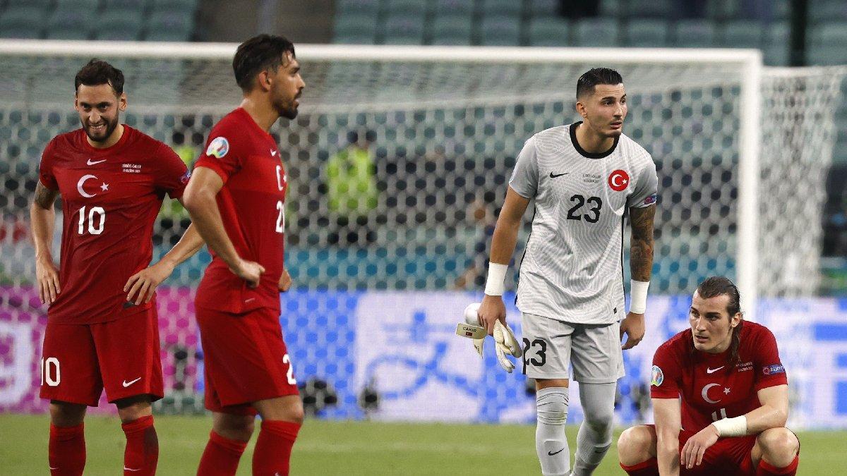 Türkiye'ye Galler şoku! Umutlarımız mucizelere kaldı   EURO 2020 A Grubu