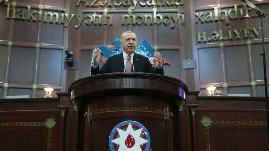 Erdoğan: Gelin 6 ülke bir platform oluşturalım