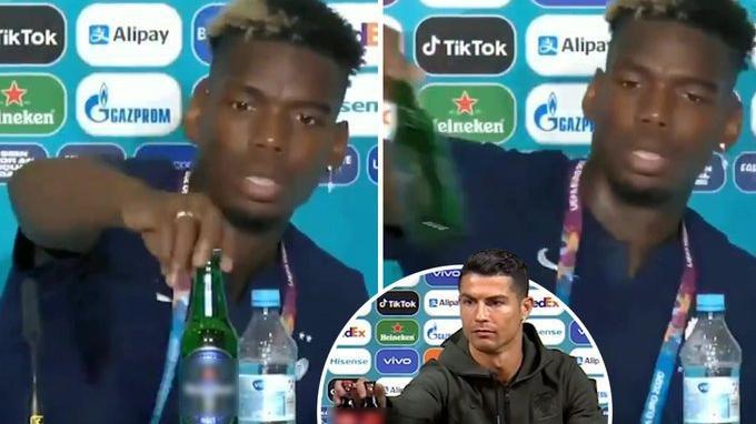 Ronaldo'dan sonra şimdi de Pogba tepkisi! Tek hareketle 4 milyar dolar zarar ettirdi…