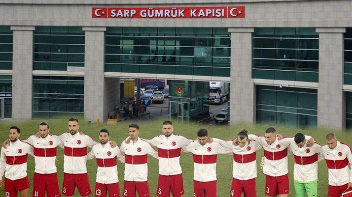 Elinde maç bileti olan her Türk vatandaşı karayolu ile Gürcistan'dan Azerbaycan'a geçiş yapabiliyor